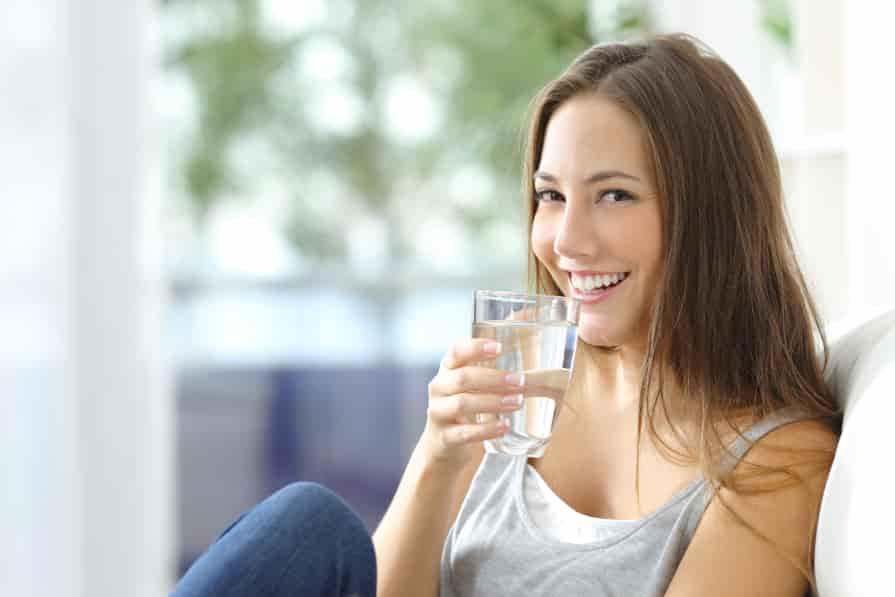 Wasser-trinken