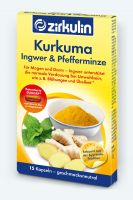 Kurkuma Kapseln mit Ingwer & Pfefferminze für die Verdauung